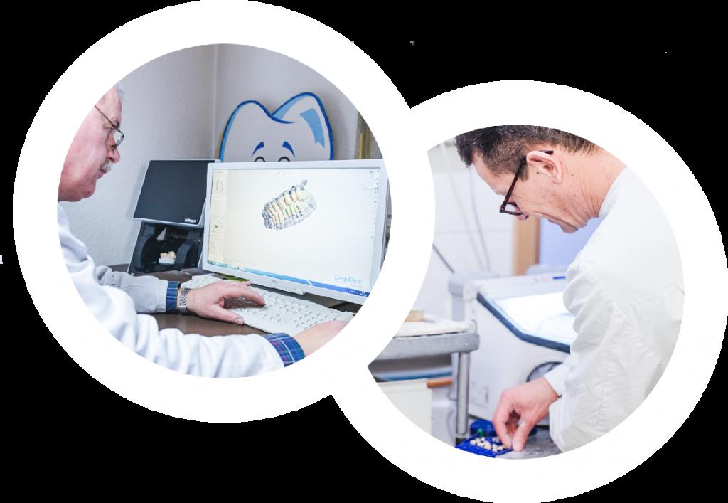 Dr.Thomas Schroeder Zahnarztpraxis Implantologie & Laserheilkunde Hamm hauseigenes Labor